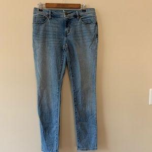 LOFT relaxed skinny sz 26/2 jeans